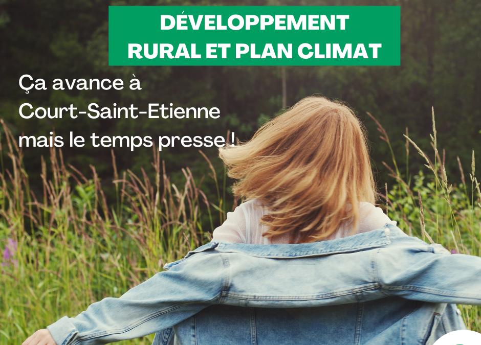 Développement rural et climat